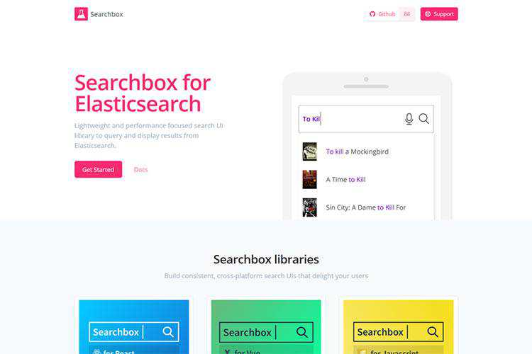 Example from Searchbox for Elasticsearch