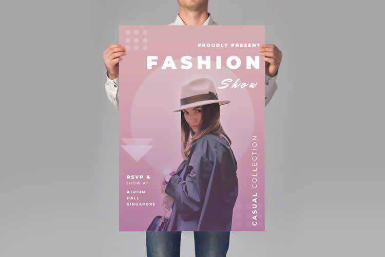 Example from 12 Best Free Style & Fashion Flyer Templates