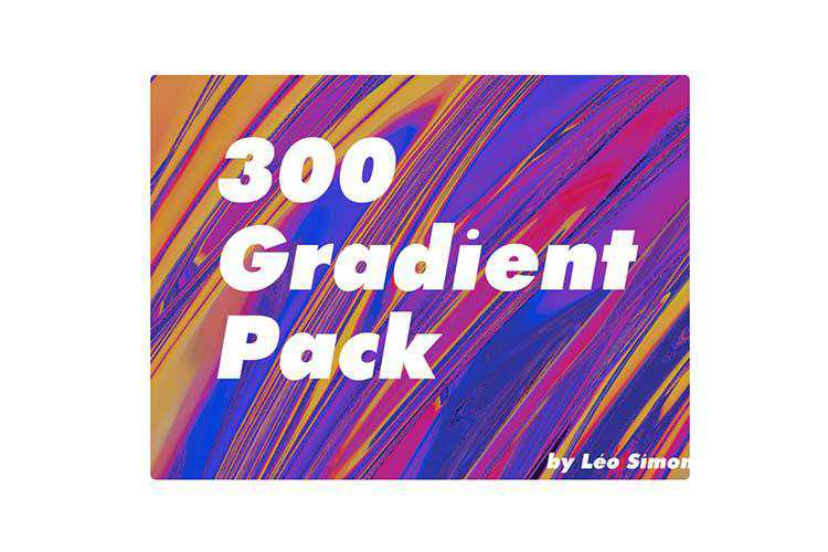 Example from 300 Free Gradient Pack