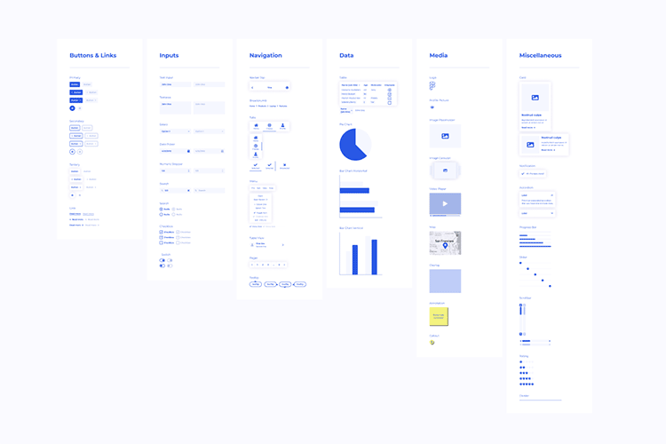 Example from Wirefigma UI Kit