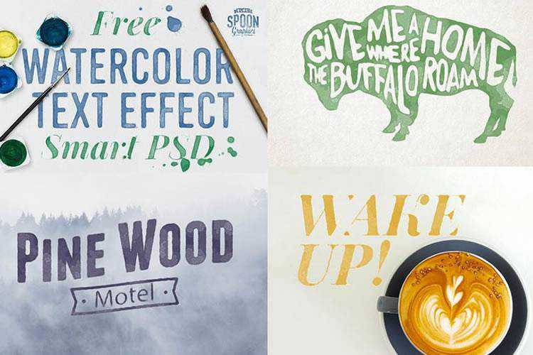 Example from 20 Free Photoshop Layer Styles for Creating Beautiful Text Effects
