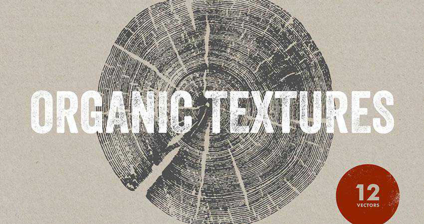 Organic free high-res textures