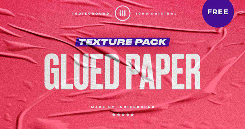 Glued Paper free high-res textures