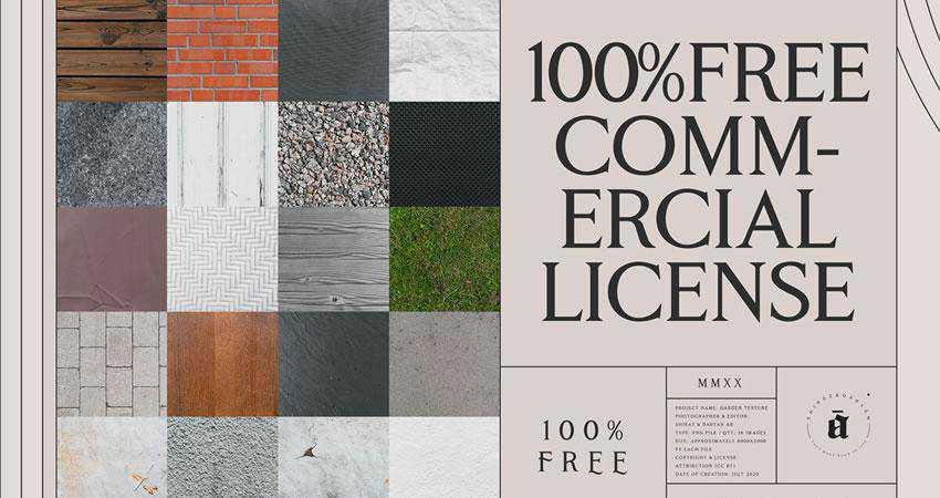 Garden free high-res textures
