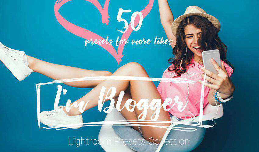 Im Blogger 50 Lightroom Presets
