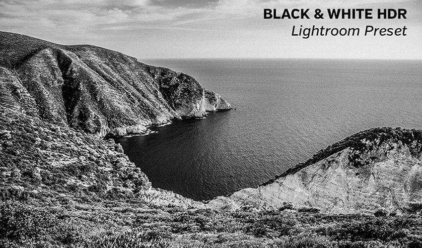 Black White HDR Lightroom Preset