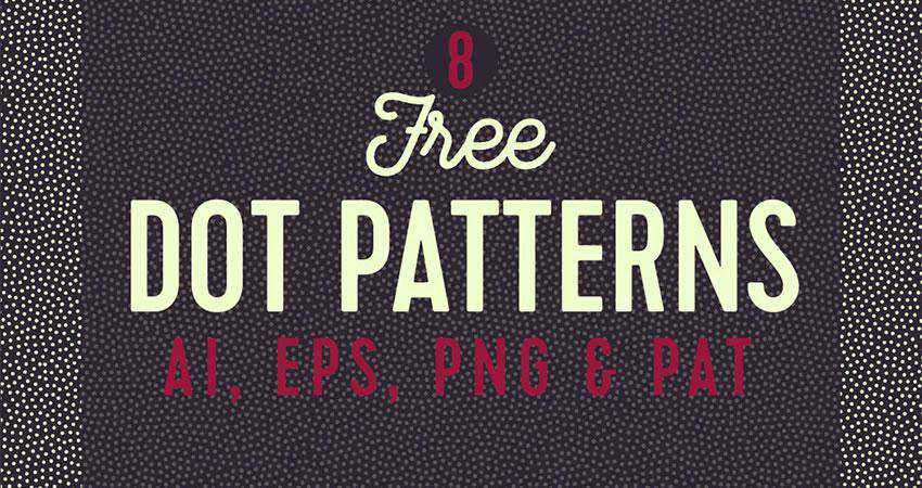 dot free patterns seamless