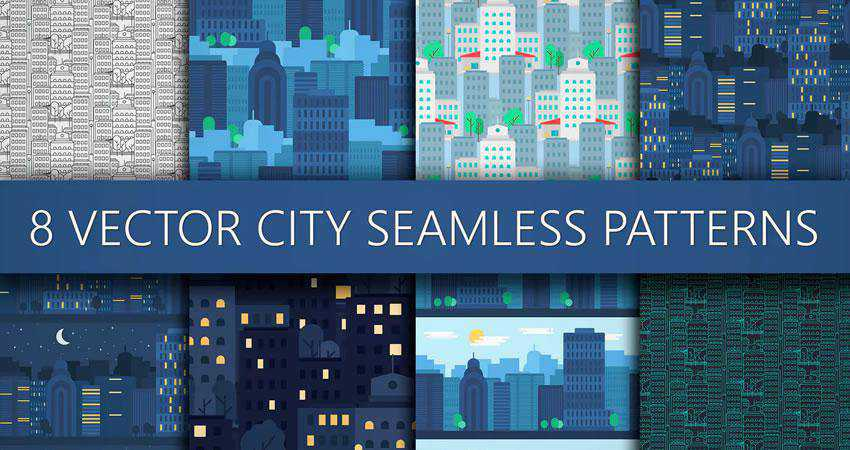 City free patterns seamless