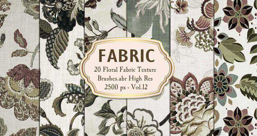 Floral Fabric Texture free patterns seamless