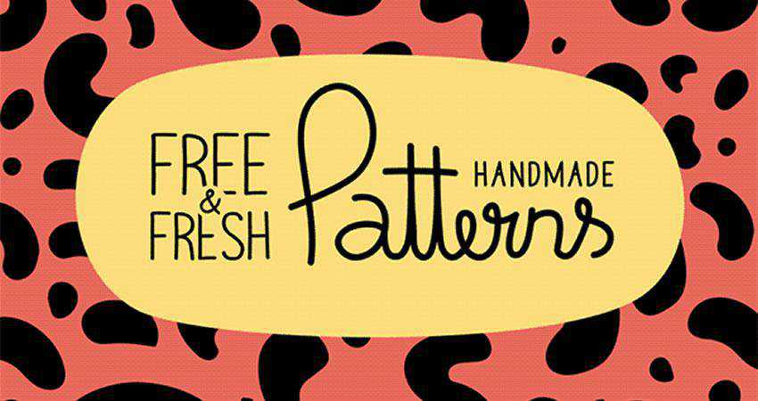 Handmade free patterns seamless