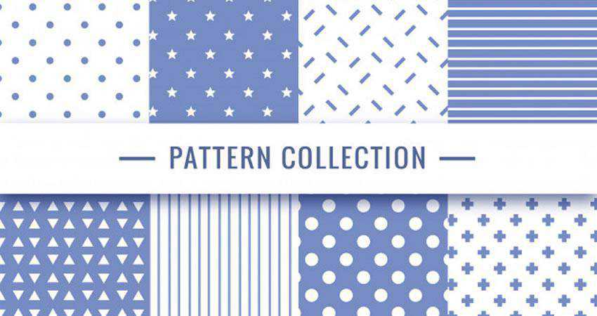Vector Geometric free patterns seamless