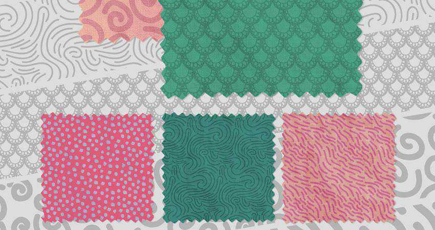 Hand Made Doodle free patterns seamless