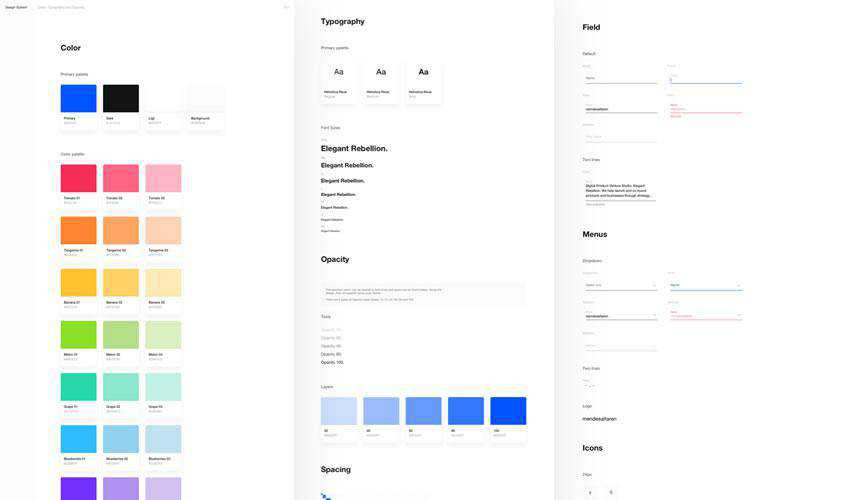 Design System free web ui kit user interface