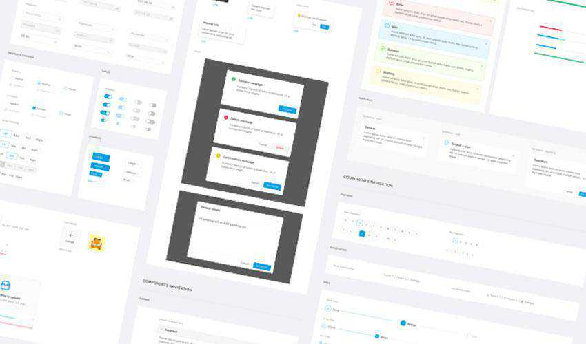 Design Framework free web ui kit user interface