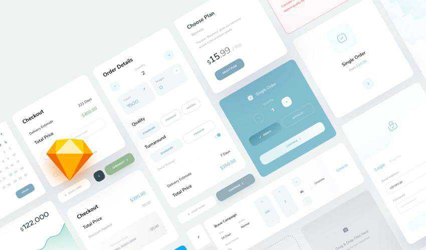 Diso Dashboard Card free web ui kit user interface