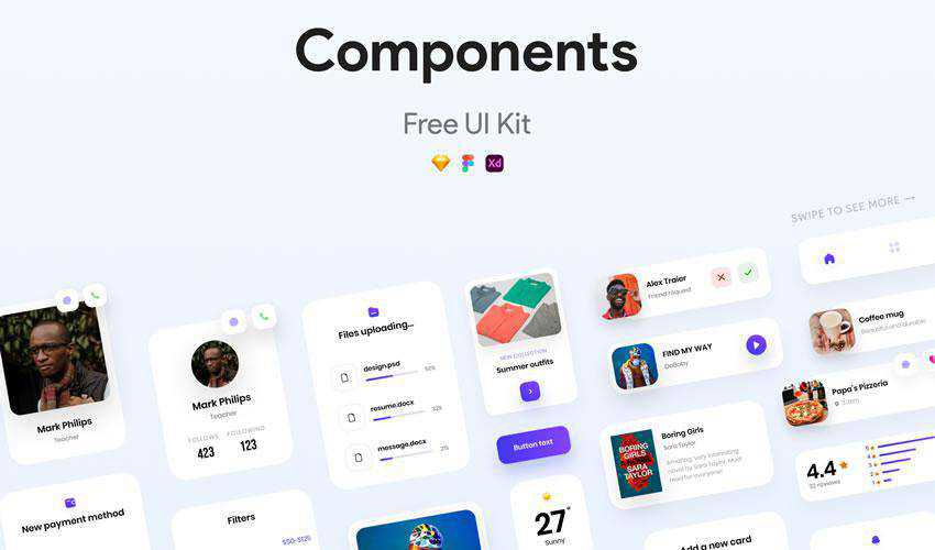 Components free web ui kit user interface