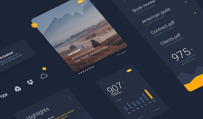 LiquidPro free web ui kit user interface