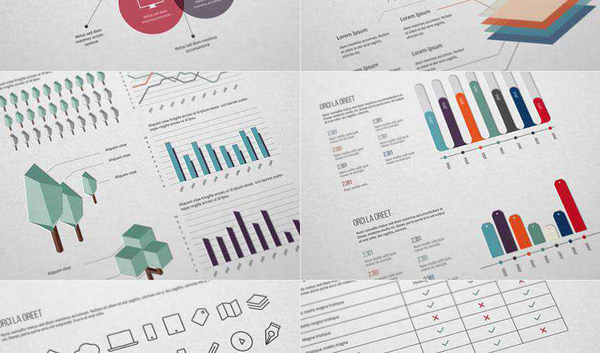 Ultimate Infographic Elements Pack free web ui kit user interface