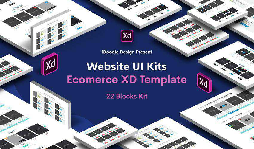 Blocks Website Ecommerce free web ui kit user interface