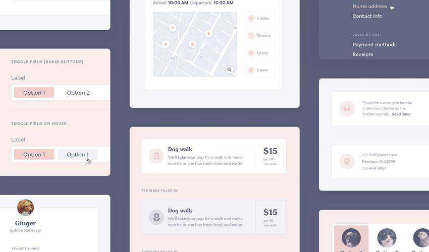 Pawtastic eCommerce free web ui kit user interface