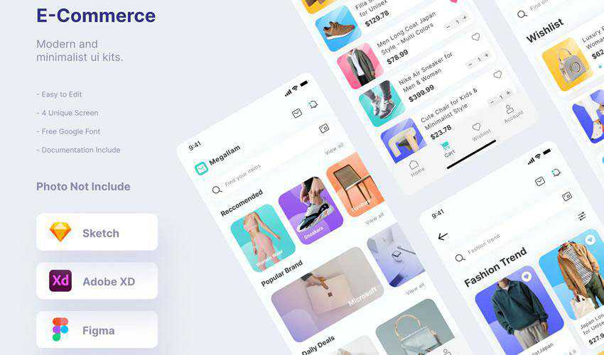 Mytemp Ecommerce free web ui kit user interface