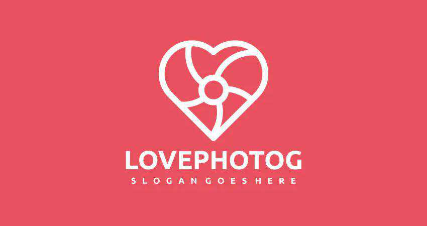 love photography photographer logo design inspiration