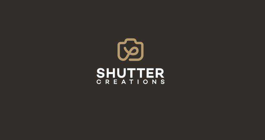 Shutter photography photographer logo design inspiration