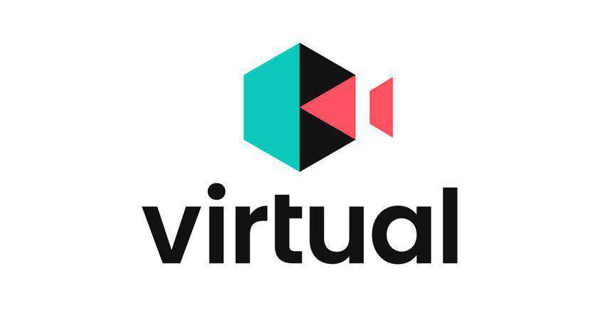 Virtual photography photographer logo design inspiration