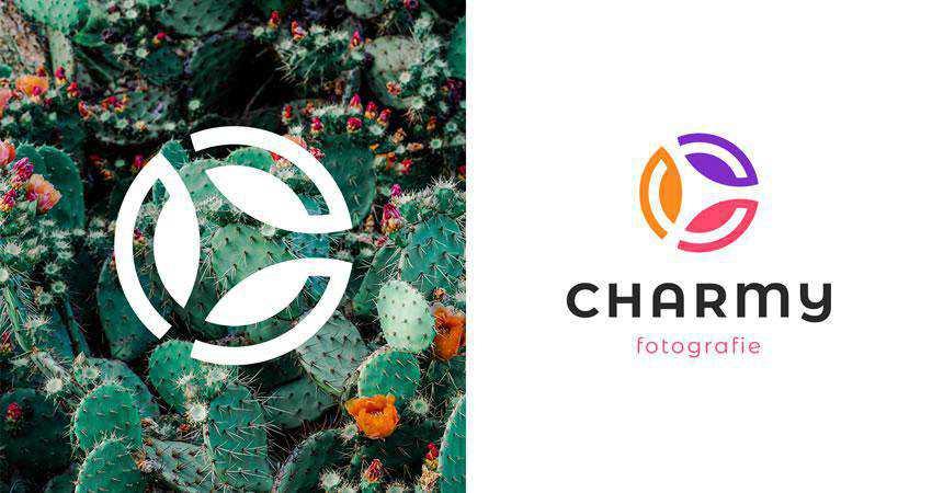 Charmy Fotografie photography photographer logo design inspiration
