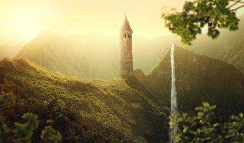 Beautiful Sunrise Landscape Photo Manipulation tutorials