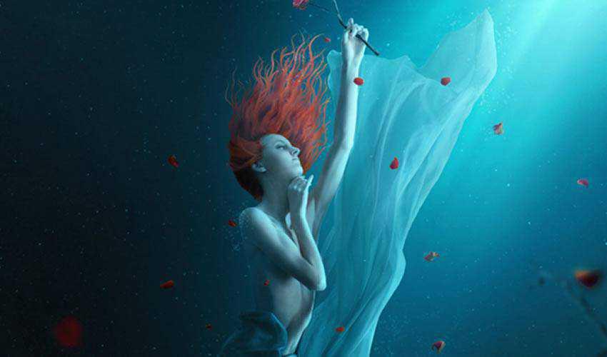 A Fantasy Underwater Scene with Photoshop
