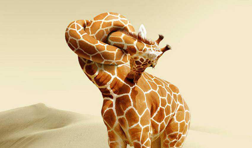 A Giraffe Neck Knot Tutorial