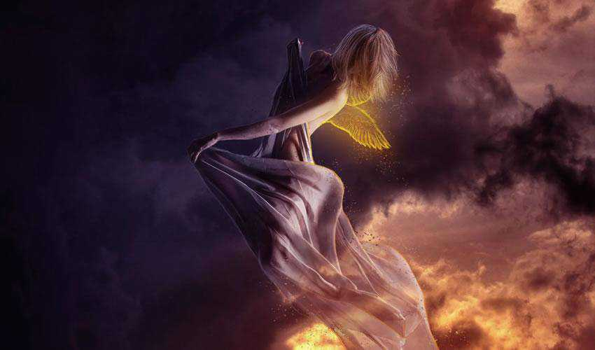 How to Create a Flying Angel Photo Manipulation in Photoshop