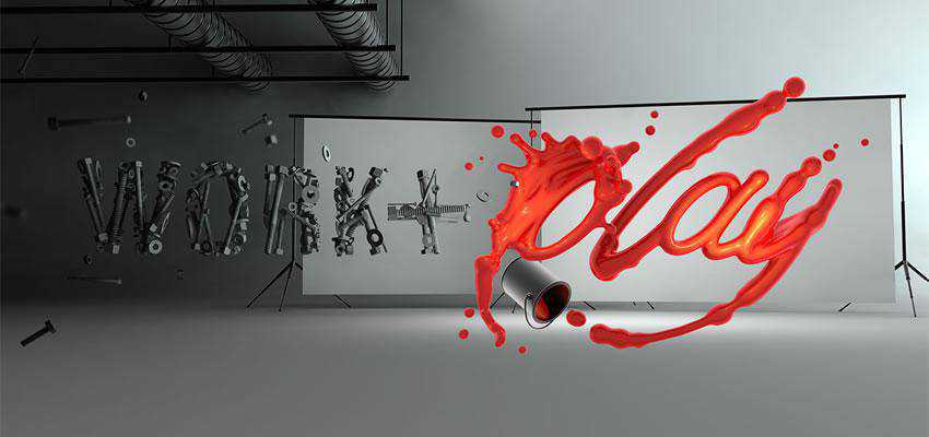 Incredible Typographic Illustration text effect adobe photoshop tutorial