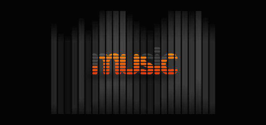 Music Equalizer Text Effect text effect adobe photoshop tutorial