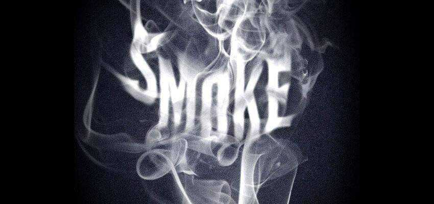 Smoke Type Effect in Photoshop