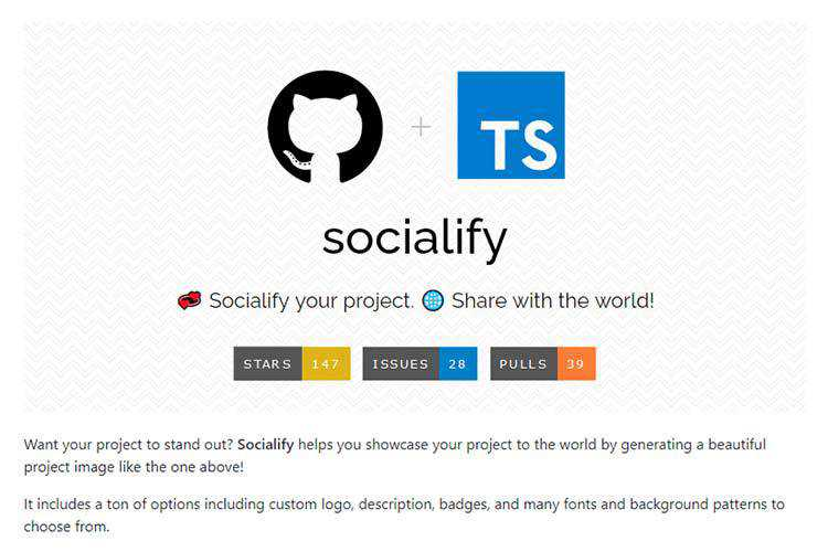 Example from GitHub Socialify