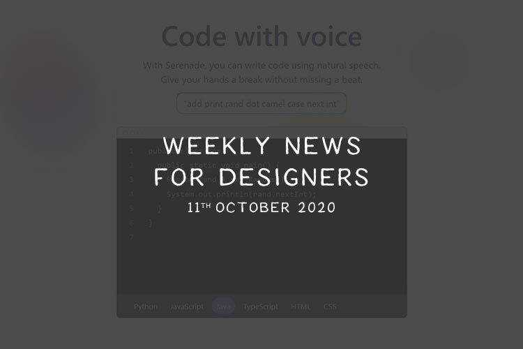 Weekly News for Designers № 561
