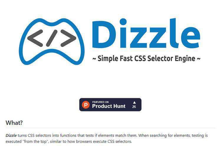 Exemple de Dizzle