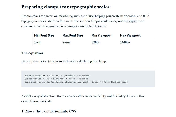 Exemple de Clamp