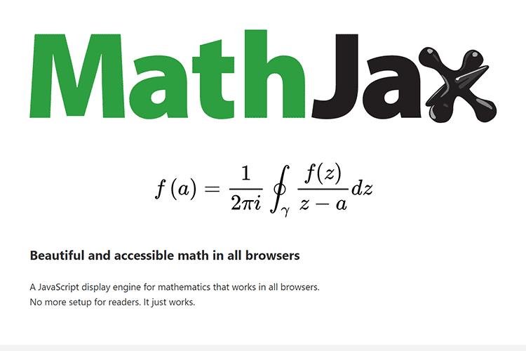 Exemple de MathJax