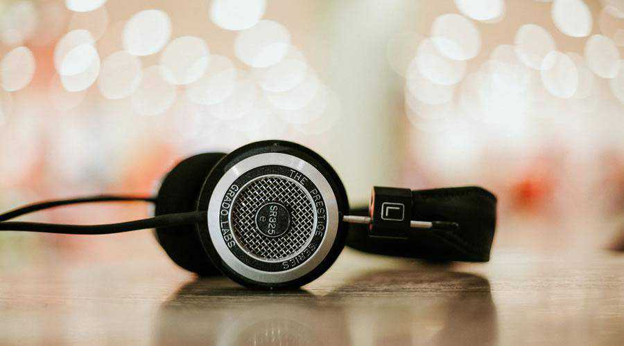 Professional Headphones lights bokeh photography inspiration