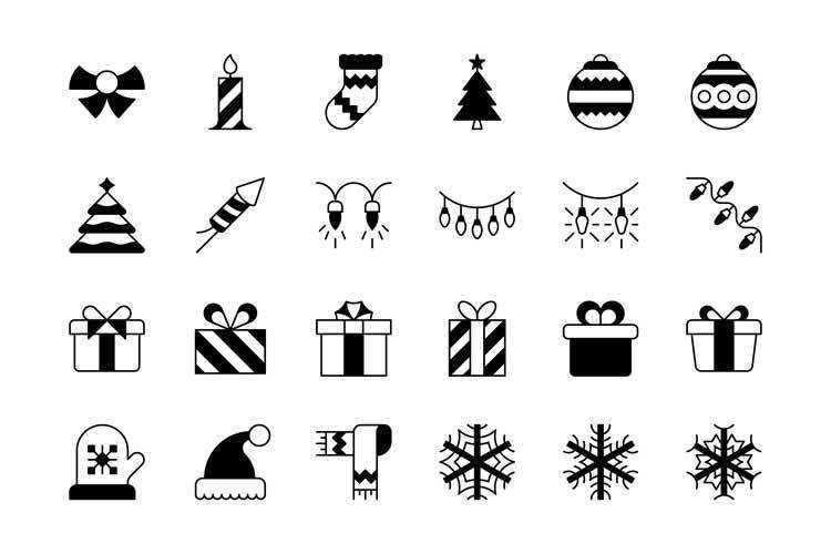 47 Christmas Icons