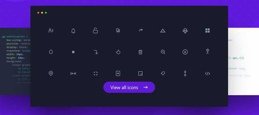 Example from 700+ CSS Icons