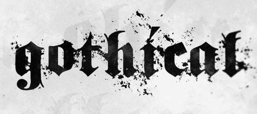 Gothical free gothic font family