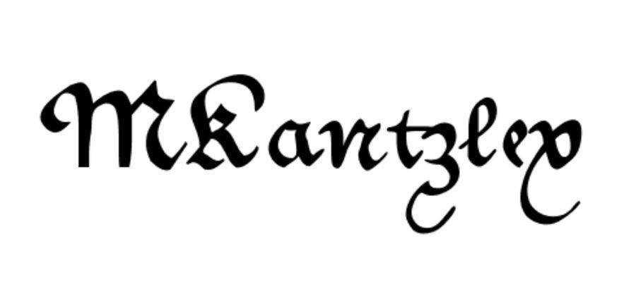 MKantzley free gothic font family