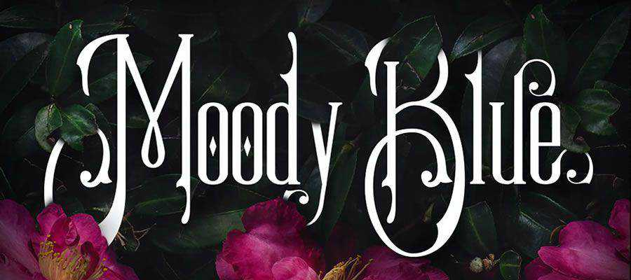 Moody Blue Typeface free gothic font family
