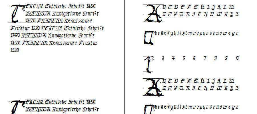 GothicHandDirty free gothic font family