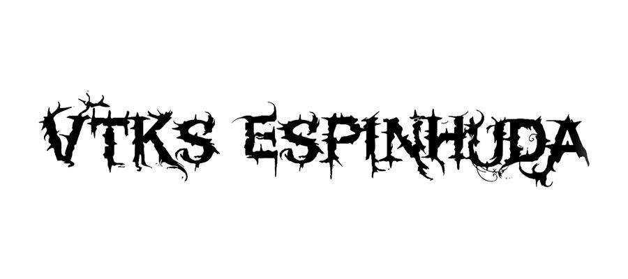 Vtks Espinhud free gothic font family