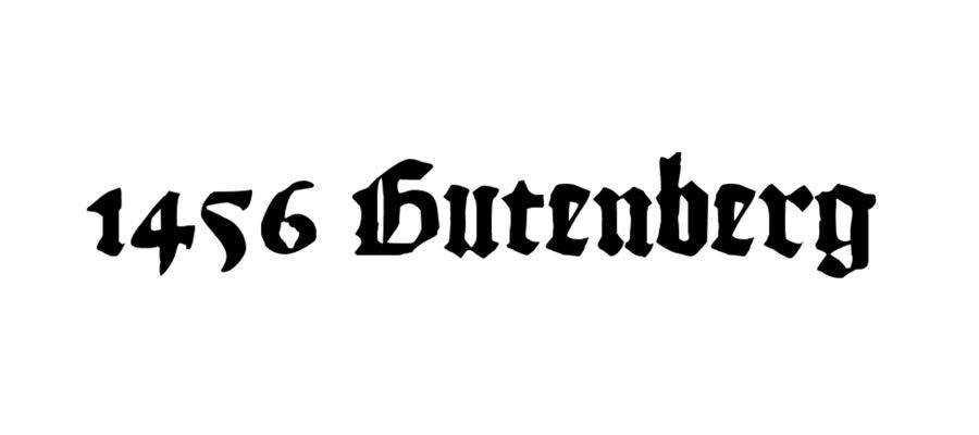 1456 Gutenberg free gothic font family